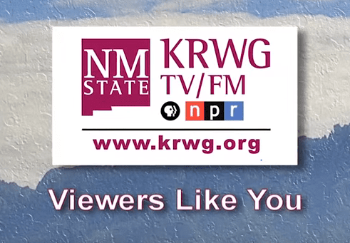 Interviews on New Mexico's Legislative Session with KRWG TV in Las Cruces