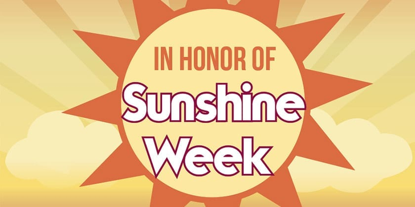 Watch Video of Sunshine Week Panel Discussion