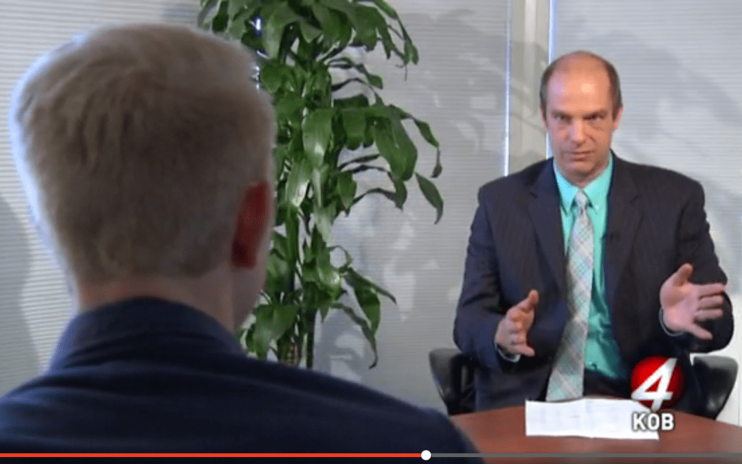 KOB TV interview: What would marijuana legalization mean for New Mexico's finances?