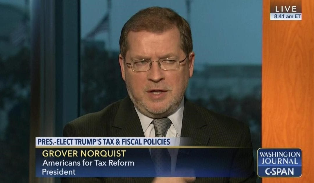 Tax Reform Activist Grover Norquist to Keynote Rio Grande Foundation Luncheon: What President Trump and Congress Mean for Healthcare and Tax Reform
