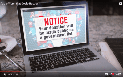 A secretary of state power grab on nonprofit privacy