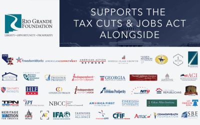 Rio Grande Foundation joins dozens of groups in supporting federal tax reform