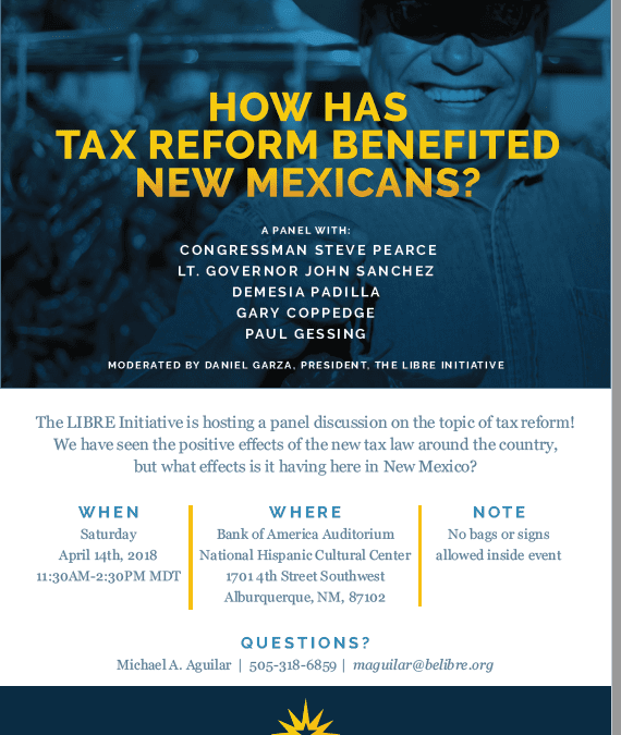 RGF president to discuss the need for state-level tax reform in New Mexico