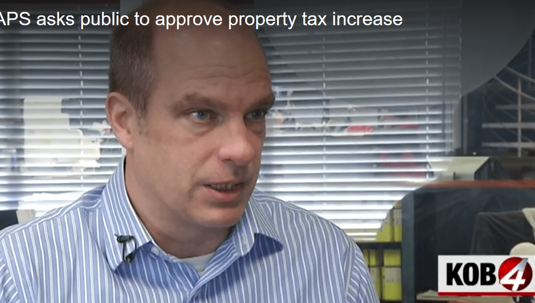 Ballots for the Albuquerque Public Schools property tax hike are in the mail: RGF president Paul Gessing sat down with KOB TV to discuss