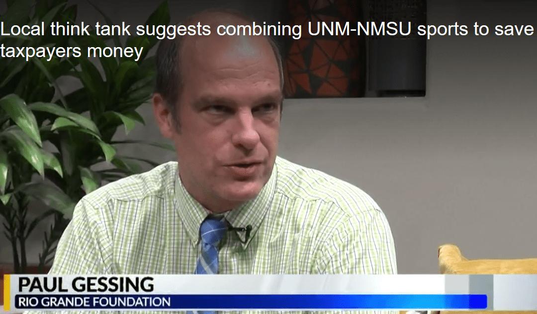 RGF report on UNM/NMSU sports teams generates coverage